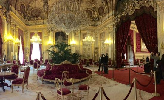 Napoleon iii dining room picture of musee du louvre for Salon du design paris