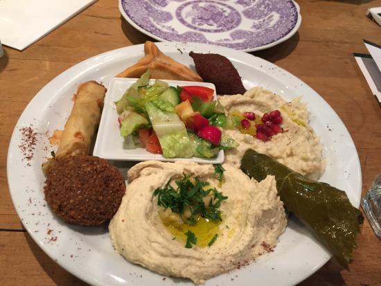 Assaha Lebanese Restuarant: Middag på Assaha Lebanese