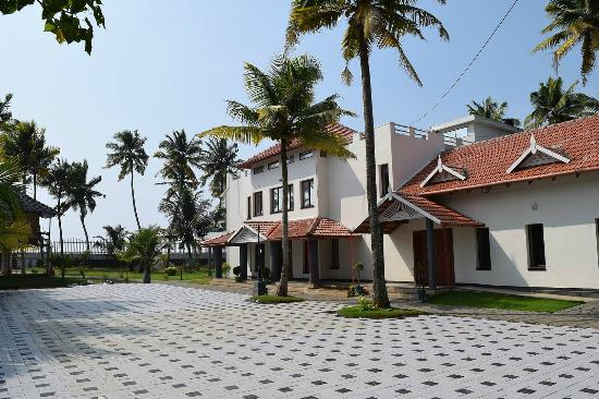 Alleppey Beach Bay Resort View From The Car Park