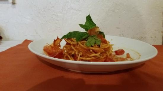 Ristorante San Marco: Spaghetti Al Pomodoro