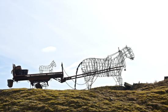 Parkhead Station House: Horse