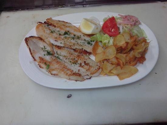 Restaurante Casa Garcias: lenguado  a la plancha