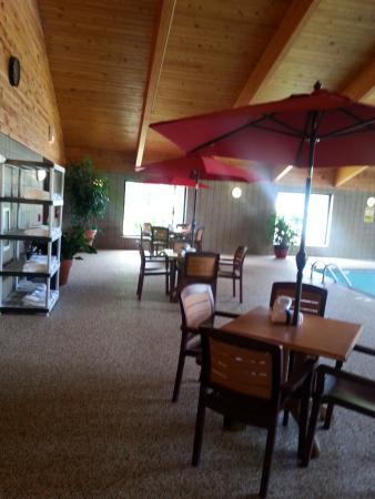 AmericInn Grand Rapids: Pool area1