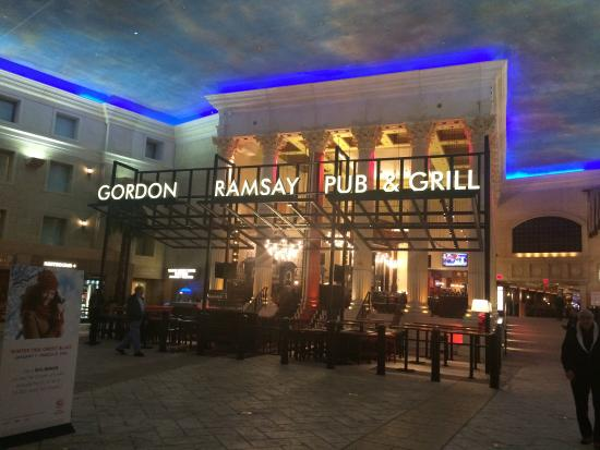 Gordon Ramsay Pub Grill In Caesars Hotel Atlantic City