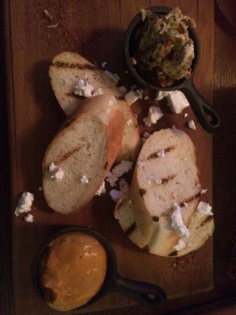 Brix Bar: Babaganoush with zucchini spread