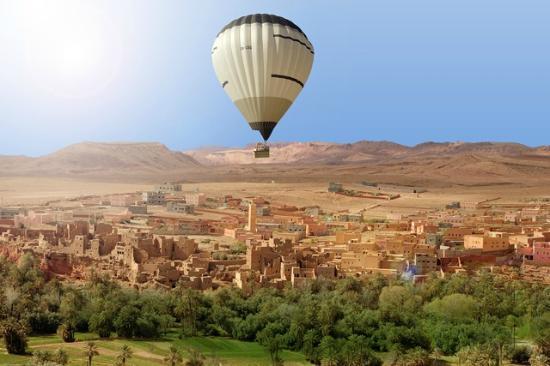 Maroc Montgolfiere