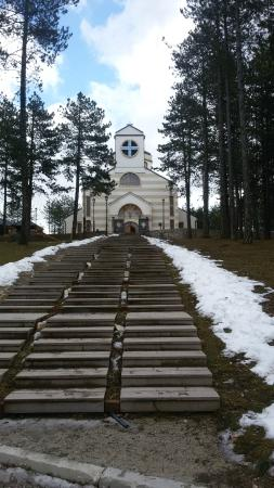 Zlatibor, Sérvia: храм