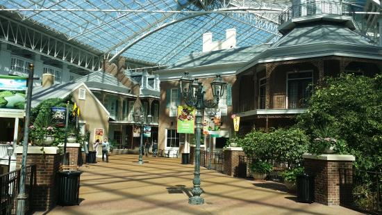 Gaylord Opryland Resort & Convention Center: View of the shops.