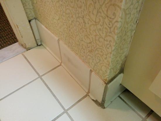 Comfort Inn: bathroom floor