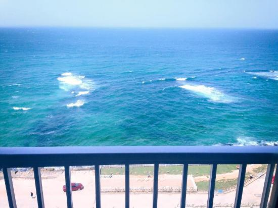 Royal Crown Hotel Alexandria: View from the room