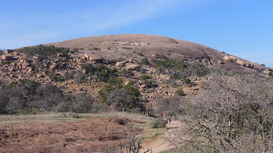 Get some fresh air and sunshine by hiking Enchanted Rock, just outside of Fredericksburg.
