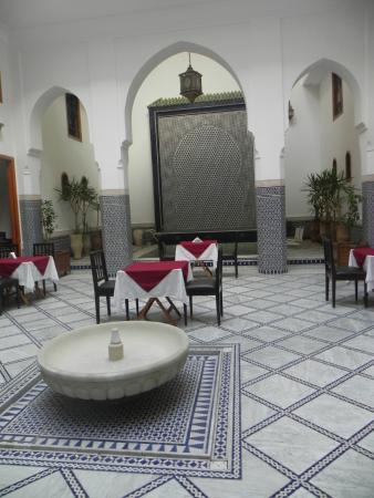 Riad Layali Fes: local do café da manhã