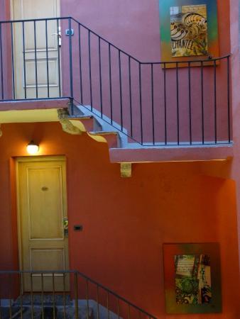 Borgovico Hotel: la scala interna