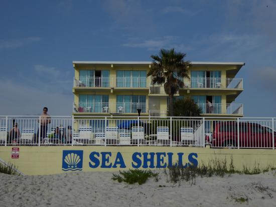 Sea Shells Beach Club View Of The Hotel From