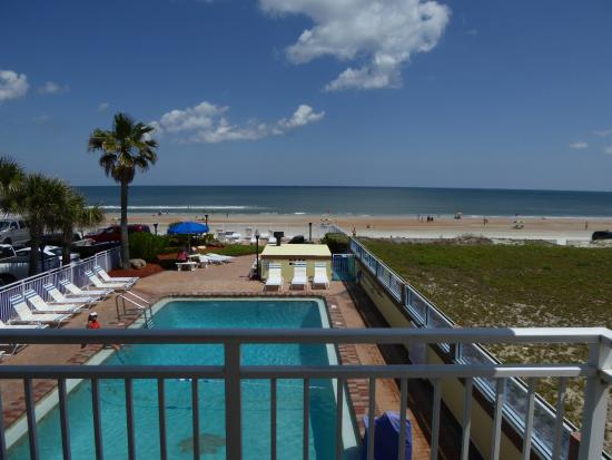 Sea Shells Beach Club Pool And Seen From 2nd Floor Room