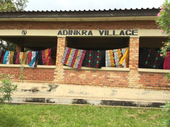 Kumasi, Ghana: Ntonso Adkinra Village