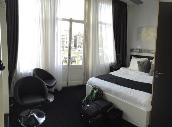 Lux Zimmer Mit Balkon Bild Von Hotel Cc Amsterdam Tripadvisor