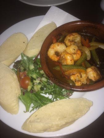 Jalons Restaurant: The prawns were gorgeous!!!