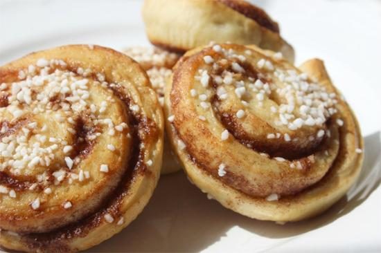 West Sussex, UK: Kanelbullar - homemade cinnamon buns