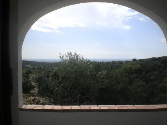 Centro de naturaleza Cañada Verde: TERRAZA HABITACION