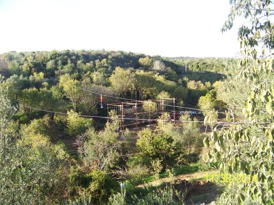 Centro de naturaleza Cañada Verde: TIROLINAS