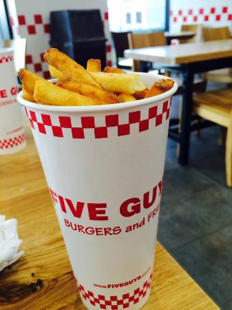 Five Guys Glasgow Silverburn