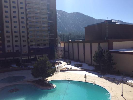 Hard Rock Hotel Lake Tahoe View From Room Pool Area Under Construction