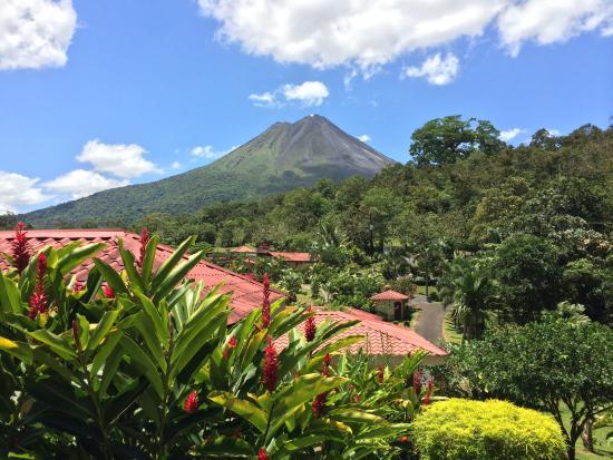Arenal Volcano Inn: Vista desde el Hotel
