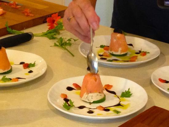 Tamborine Cooking School: Poached Salmon Terrine