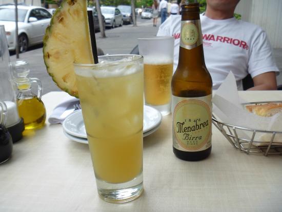 Arancino di Mare: チーとビール