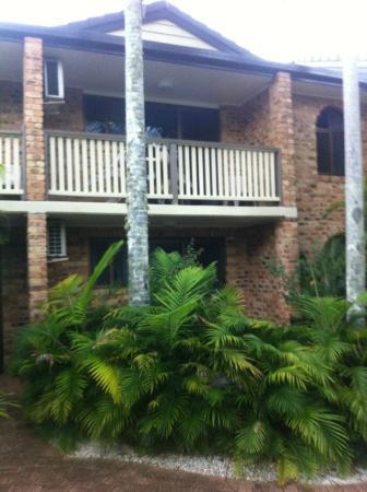 Byron Sunseeker Motel Byron Bay: A second floor room w/ balcony
