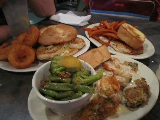 Shucks The Louisiana Seafood: You're going to roll under the table