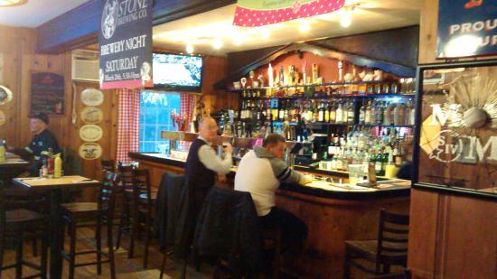 Holy Smoke: Bar area
