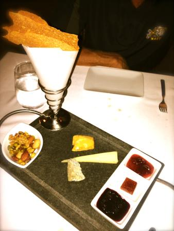 Norman's: OUr cheese sampler was unforgettably delicious