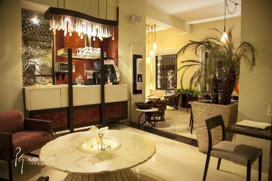 Plaza Gallery Hotel & Boutique: Entrada Restaurante