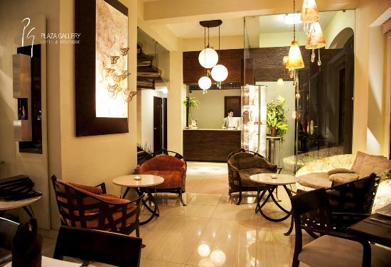 Plaza Gallery Hotel & Boutique: Lobby