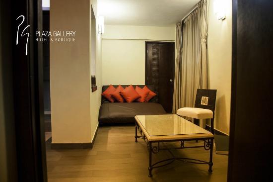 Plaza Gallery Hotel & Boutique: Sala - Master Suite