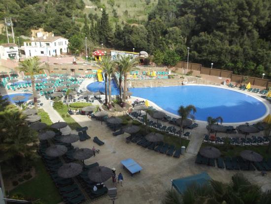 Rosamar Garden Resort: vue sur la piscine