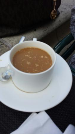 Motif Restaurant at St. Regis: Coffee creamer curd