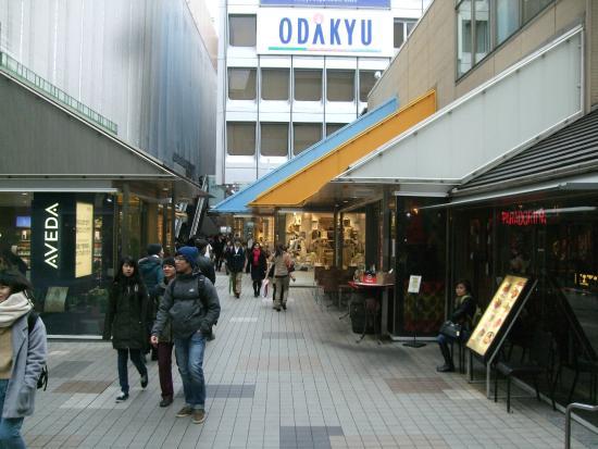 Mosaic Street : カフェやバルも数軒あります