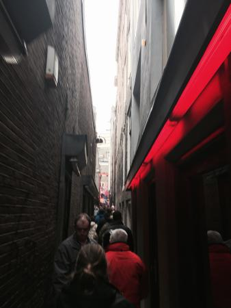 Tattoo place next to sex show picture of red light for Tattoo amsterdam walk in