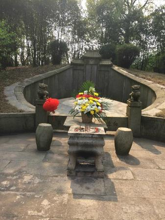 Changsha County, China: General Zuo Zongtang's tomb.
