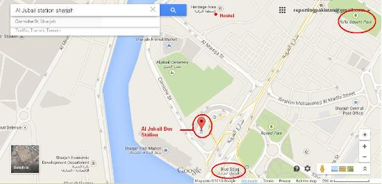 Sharjah Heritage Hostel : Hostel - Al Jubail Bus Station - Blue (Central) Soak ...