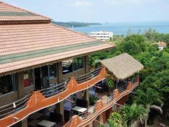Mealy Chenda Guesthouse : Mealy Chenda from north-western side
