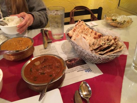 Masala Indian Cuisine: Our meal, it was realy good.