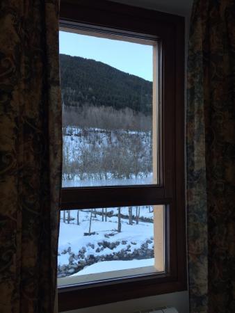 Hotel La Creu: Vistas desde habitación