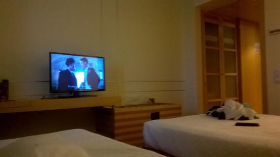 VIP Executive Villa Rica Hotel: habitacion tv pantalla plana