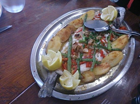 Pil-Pil Enea : 魚料理
