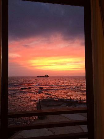 Byblos Sur Mer: Vue de notre chambre