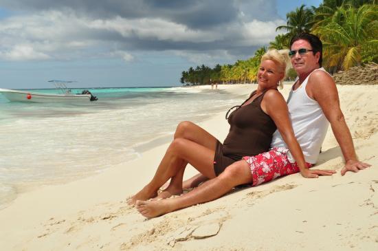 Parque Nacional del Este, República Dominicana: Op het strand van Isla Saona